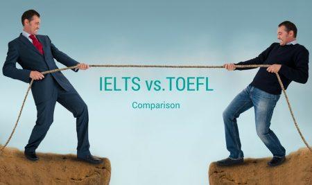 مقایسه نمره دهی تافل با آیلتس