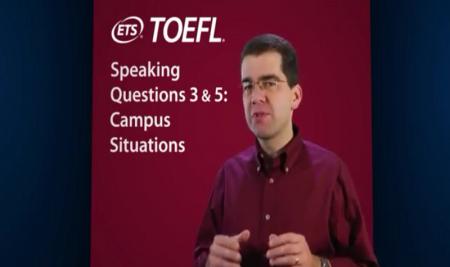 ویدیو آموزشی: مهارت های گفتاری تافل – قسمت دوم Speaking Questions: 3 & 5: Campus Situations