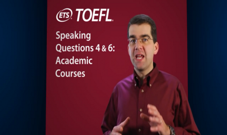 ویدیو آموزشی: مهارت های گفتاری تافل – قسمت سوم Speaking Questions: 4 & 6: Academic Courses