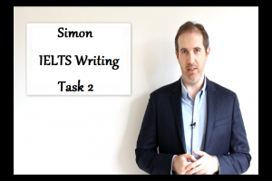 Simon – IELTS Writing Task 1