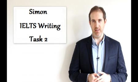 ویدیوهای آیلتس سایمون – مهارت نوشتاری آکادمیک Task 2 (درس ۱ تا ۱۰)