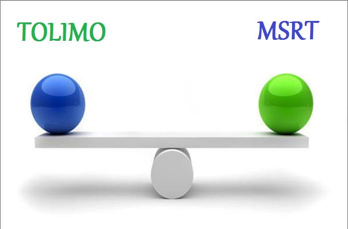 تولیمو TOLIMO یا MSRT؟