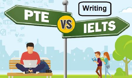 مقایسه ی بخش writingآزمون PTE و IELTS