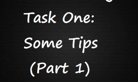 نکاتی در مورد IELTS Writing Task One (قسمت ۱)