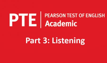 فرمت آزمون آکادمیک PTE – بخش سوم (لیسنینگ)