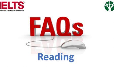 ۱۰ سؤال رایج در مورد بخش ریدینگ آیلتس