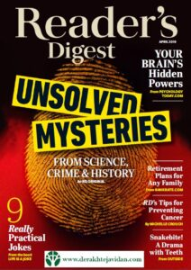 Reader's Digest April 2019