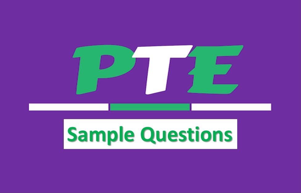 نمونه سوال از بخش رایتینگ PTE