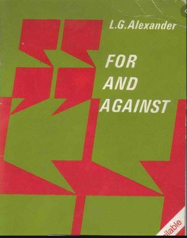 دانلود رایگان کتاب for and against