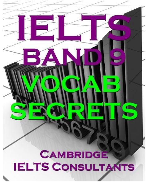 دانلود رایگان کتاب IELTS Band 9 Vocab Secrets