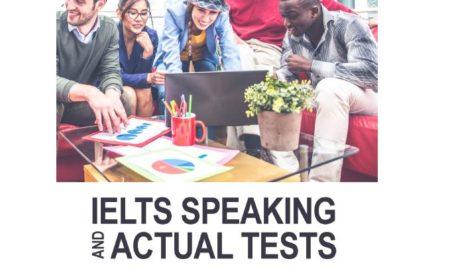 دانلود رایگان کتاب IELTS Speaking Actual tests-ژانویه ۲۰۲۰