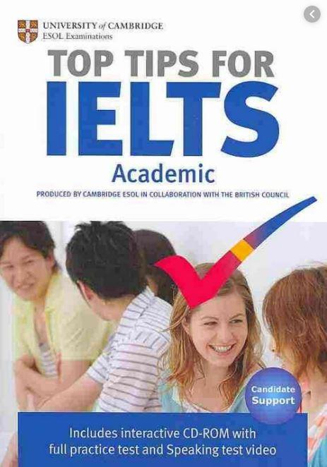 دانلود رایگان کتاب Top Tips for IELTS
