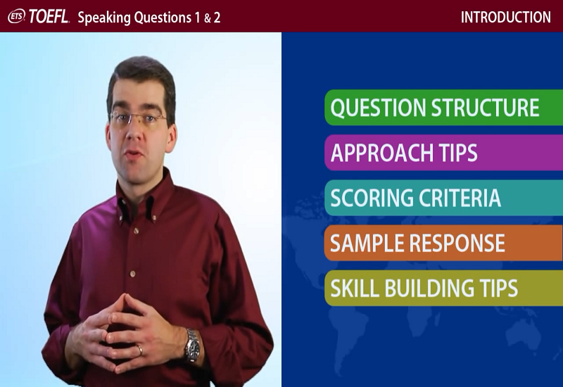 Speaking Questions 1 & 2