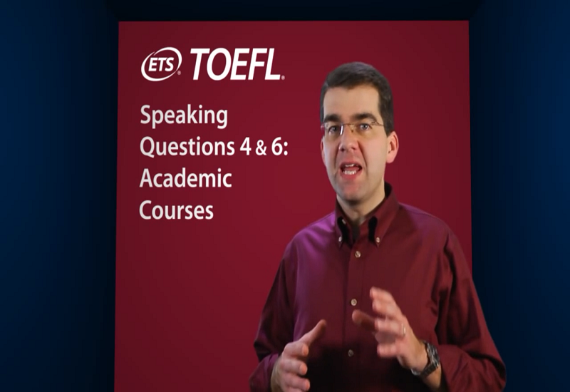 Speaking Questions 4 & 6