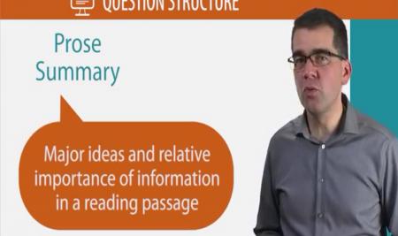 ویدیو آموزشی: مهارت های خواندن تافل – قسمت چهارم Prose Summary and Fill in a Table