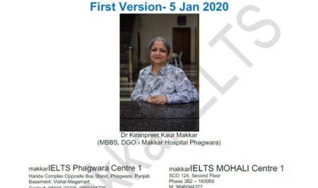 دانلود کتاب  Makkar IELTS Speaking Guesswork Jan-Apr 2020