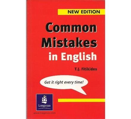 دانلود کتاب Common Mistakes in English