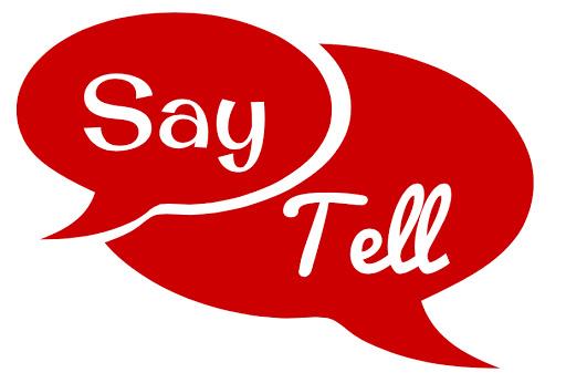 گرامر پیشرفته: Say or tell