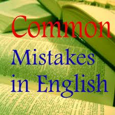 اشتباهات رایج در زبان انگلیسی!